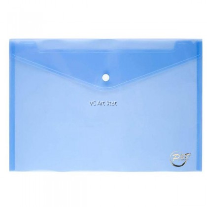 SSD A4 Clear Paper File Folder 6 colors (Stationery School Office Case PP)