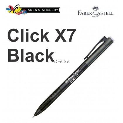 Faber-Castell Click X5/X7Ball Pen 0.5/0.7mm -Per Pcs