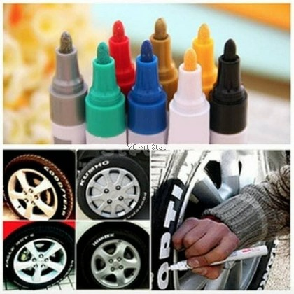 Toyo Multisurface Permanent Paint Marker Pen Car Tyre Tire Tread Rubber Metal