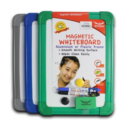 **Clearance** A4 Size Writebest Plastic Frame Magnetic Kids Board