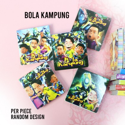 3D Animation Pocket Notebook/ Memo Pad/ Pocket Book- 76 and 86 Sheets